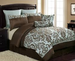 Blue And Brown Bed Sets Chocolate Brown And Blue Bedding Sets