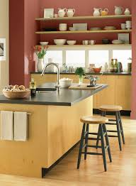 orange kitchen ideas rustic orange kitchen paint color schemes
