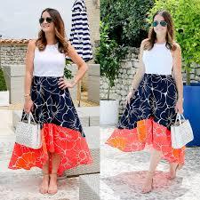 jenn lake hutch designs floral high low dress ann taylor laser