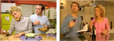 un gars une fille dans la cuisine un gars une fille home