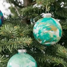 diy marbled ornaments sugar and charm sweet recipes