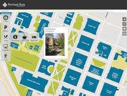 Oregon State University Campus Map by Campus Map For Portland State University The Gartrell Group