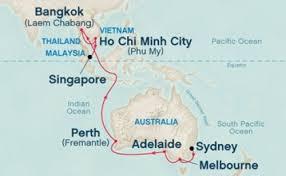 cruises to sydney australia west australia asia cruise from sydney to singapore 19