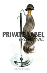 hair extensions on hair hair extension stands best way to display your hair extensions