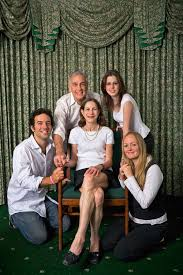 can you figure out what s strange about these family portraits