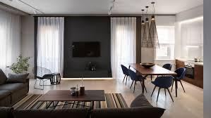 Apartment Living Room Decorating Ideas Elegant Minimalist Apartment In Dnepropetrovsk Ukraine By Nott