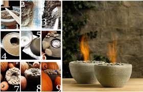 how to style and enjoy a fire bowl for a cozy experience
