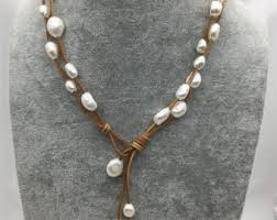 etsy necklace pearl images Pearl etsy jpg