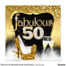50th Birthday Invitation Card Bring The Bling Sparkle 50th Birthday Silver 5x7 Paper Invitation