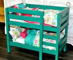 Doll Bunk Beds Plans Futon American Doll Bunk Bed Dolls Doll Room