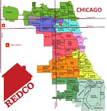 chicago map chicago neighborhood map