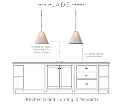 height of a kitchen island kitchen island lighting height kitchen island two pendant