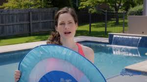 Swimways Baby Spring Float Sun Canopy Blue by How To Inflate Deflate And Fold The Baby Spring Float Youtube