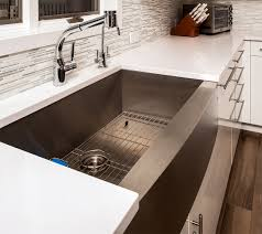 Ceramic Kitchen Sinks Kitchen Small Square Sink In White Ceramic Material With Small