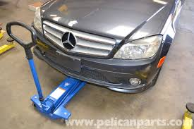 mercedes benz w204 jacking up your vehicle 2008 2014 c250