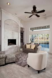 fireplace how to build whitewashed fireplace in your living