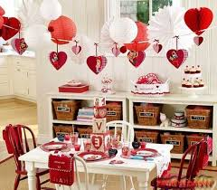 Ideas For Homemade Valentine Decorations by Valentine Days Home Decorations For Valentine U0027s Day Valentine U0027s