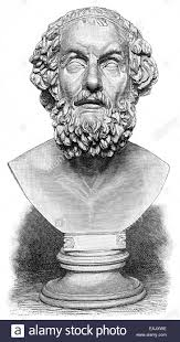 homer poet of antiquity author of the iliad and the odyssey
