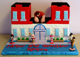 wreck ralph cake cake dreams u0026 cookie wishes