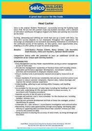 cashier resume responsibilities sample phd resume for industry sample phd resume for industry