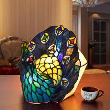 Stained Glass Light Fixtures Dining Room by Compare Prices On Tiffany Animal Lamps Online Shopping Buy Low
