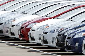 toyota car lot buying a car grad don t forget the rebates csmonitor com