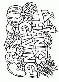 thanksgiving cornucopia coloring page church vbs