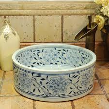 Cheap Vessel Sinks Online Get Cheap Blue Vessel Sink Aliexpress Com Alibaba Group