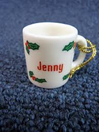 mug ornament ganz personalized name christmas mug coffee cup