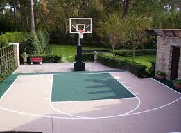 perfect surfaces basketball courts sports area home