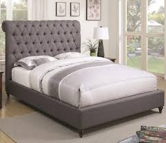 comfortable bedding bedroom grey upholstered bed for comfortable bedding system