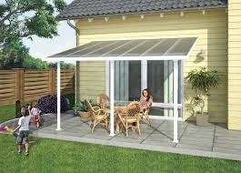 Lightweight Porch Awning Porch Cover Multi Layered Polycarbonate Patio Porch Awning 10 X 14