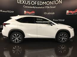 lexus nx sport white used 2017 lexus nx 200t awd 4dr 4 door sport utility in edmonton
