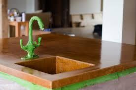 light colored concrete countertops adventures in sealing concrete countertops part ii