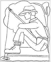 42 dessins de coloriage pêcheur à imprimer sur laguerche com page 1