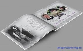 Wedding Album Printing 30 Best Wedding Photo Album Print Templates Frip In