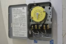 intermatic t105 24 hour mechanical time switch electric timer 120