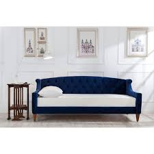 Overstock Sofa Bed Upholstered Sofa Bed Free Shipping On