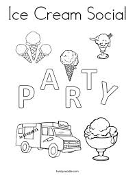 twisty noodle coloring pages ice cream social coloring page twisty noodle