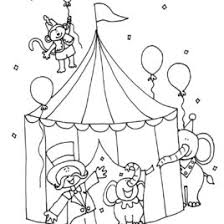 Circus Lion Coloring Page Kids Drawing And Coloring Pages Marisa Circus Coloring Page