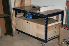 table saw router combo table saw router combo work tables pinterest woodworking