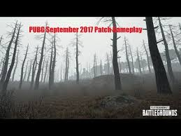 pubg how to cook grenades pubg september 2017 patch foggy weather grenade cooking more