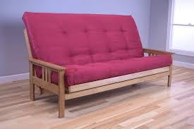 Mission Style Futon Couch Monterey Queen Butternut Futon Set By Kodiak