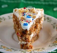 moist vegan carrot cake w cream cheese frosting