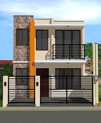 narrow house designs 2 floor houses novic me