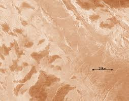 Venus Map Mystery Of U0027metallic Frost U0027 In Venusian Mountains Deepens Space