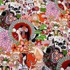 Cherry Blossom Upholstery Fabric Asian Fabric Ebay