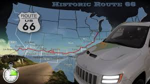 Historic Route 66 Map by The Crew Historic Route 66 Speedmotion Youtube