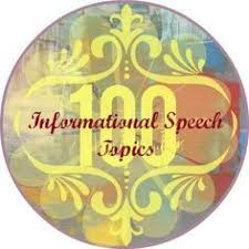 A List of Informative Speech Topics  Pick Only Awesome Ideas  SlidePlayer Informative speech topics