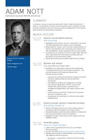 In House Counsel Resume Examples General Counsel Resume Samples Visualcv Resume Samples Database